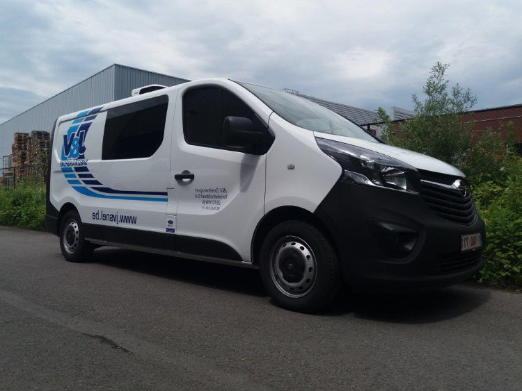 J & V Sneltransport Wilrijk Nationaal transport Koelwagen